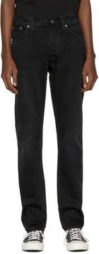 Nudie Jeans Black Fearless Freddie Jeans