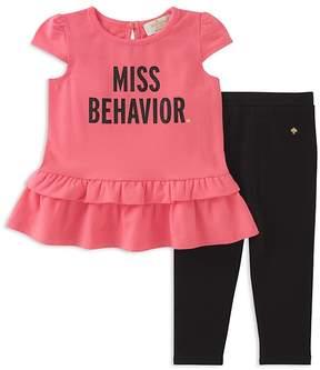 Kate Spade Girls' Miss Behavior Tunic & Leggings Set - Baby