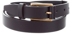 Gucci Skinny Leather Belt