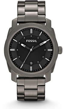 Fossil Machine Smoke Stainless Steel Watch