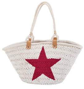 San Diego Hat Company Women's Painted Star Tote Bsb1559.