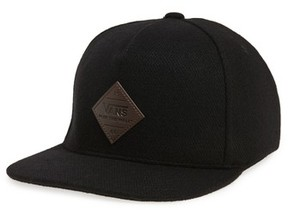 Vans Men's Grove Snapback Baseball Cap - Black