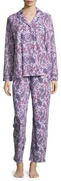 Karen Neuburger Paisley Long Sleeve Pajamas