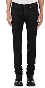 Saint Laurent Men's Coated Skinny Jeans