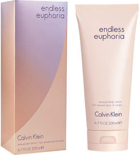 Calvin Klein endless euphoria Sensual Body Lotion, 6.7 oz