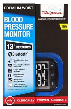 Walgreens Premium Wrist Blood Pressure Monitor 2016