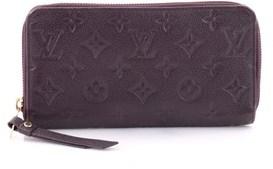 Louis Vuitton Pre-owned: Secret Wallet Monogram Empreinte Leather. - PURPLE - STYLE
