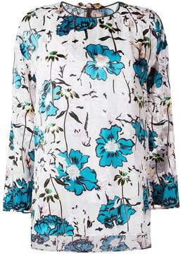 Antonio Marras floral print blouse
