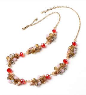 Amrita Singh Red & Goldtone Bayside Necklace