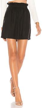 1 STATE Paperbag Mini Skirt