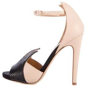 Aperlaï Karung Ankle-Strap Sandals