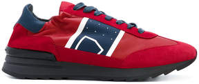 Philippe Model panel lace-up sneakers