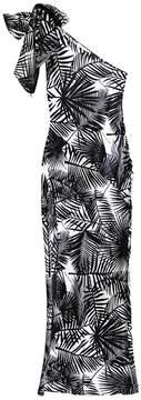 Fleur Du Mal | One Shoulder Tie Gown | L | White