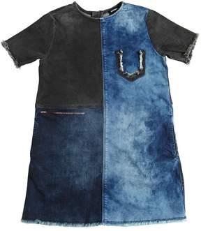 Diesel Bicolor Stretch Denim Dress