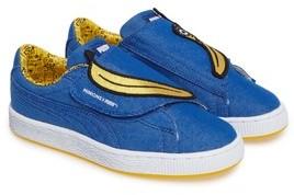 Puma Girl's Minions Basket Wrap Sneaker