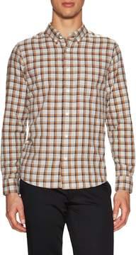 Jack Spade Men's Linfield Herringbone Check Work Sportshirt