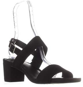 Giani Bernini Gb35 Maggiee Slingback Mule Sandals, Black Suede.