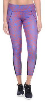 2xist Printed Mesh Panel Leggings