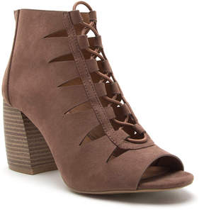 Qupid Nutmeg Beau Ankle Boot - Women