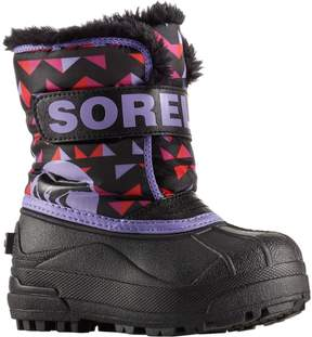 Sorel Snow Commander Print Boot - Toddler Girls'