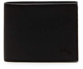 Lacoste Men's Classic Petit Piqu Flat Wallet