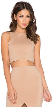 Donna Mizani Front Panel Crop Top