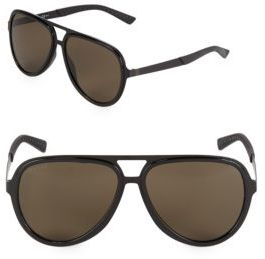 Gucci Monochromatic 59MM Aviator Sunglasses