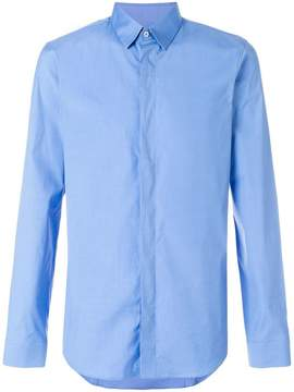 Jil Sander concealed placket shirt