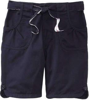U.S. Polo Assn. USPA Belted Bermuda Shorts - Preschool Girls 4-6x