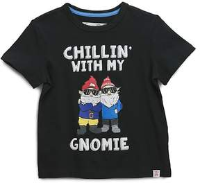 Sovereign Code Boys' Chillin' with My Gnomie Graphic Tee - Little Kid