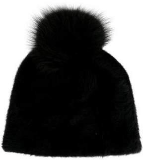 Max Mara Fur Pom-Pom Hat