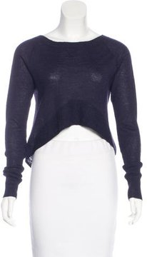 Dolce Vita Alpaca Cropped Sweater