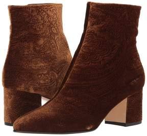 Etro Velvet Boot Women's Shoes