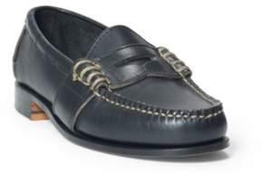 Ralph Lauren Edric Calfskin Penny Loafer Black 1