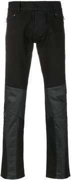 Unconditional panelled trousers