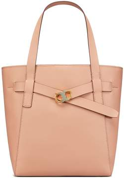 Tory Burch GEMINI LINK LEATHER TOTE - PERFECT SAND - STYLE