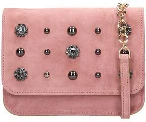 L'Autre Chose Pink Suede Belt Bag