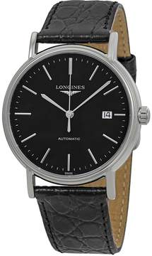 Longines Presence Automatic Black Dial Men's Watch