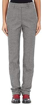 CALVIN KLEIN 205W39NYC Women's Houndstooth Wool Trousers