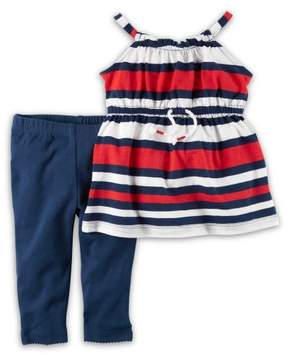 Carter's Baby Girls Striped 2 Pc Sets