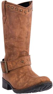 Dingo Tan Tulula Leather Cowboy Boot - Women