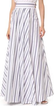 Awake Long Pleat Skirt