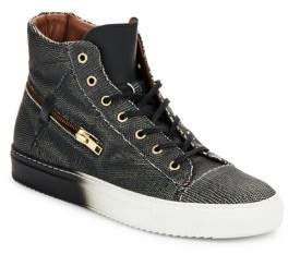 Bacco Bucci Teo Leather High-Top Sneakers