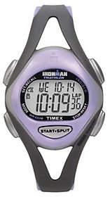 Timex Ladies Ironman Sports Watch - Gray/PurpleBand