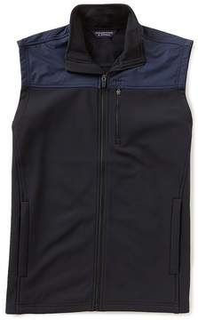 Roundtree & Yorke Full Zip Multi Media Sweater Vest