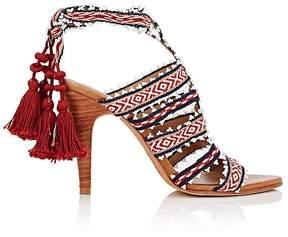 Ulla Johnson Women's Sabina Ankle-Tie Sandals