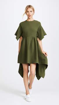 Edit Oversized Box Pleat Dress