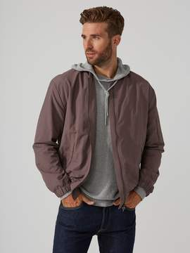 Frank and Oak Kingston Nylon Bomber in Sparrow