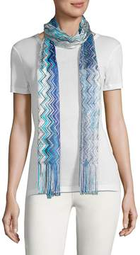 Missoni Women's Fringed Patterned Scarf