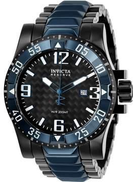 Invicta Reserve Black Dial Men's Watch
